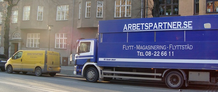 Flyttfirmor Stockholm - Flyttfirman Arbetspartner