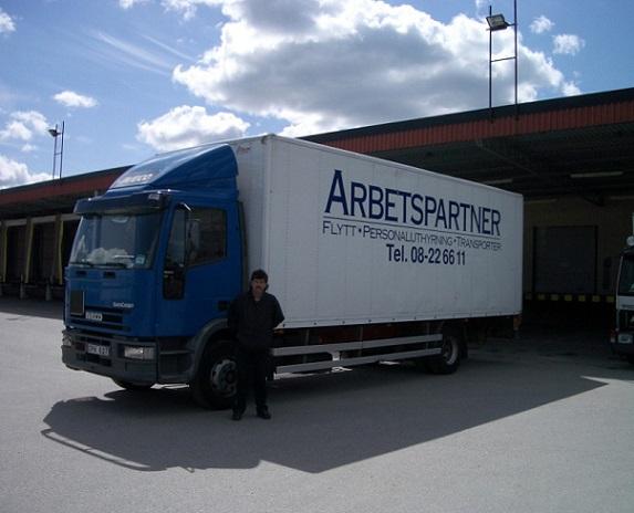 Flytthjälp i Stockholm - Arbetspartner
